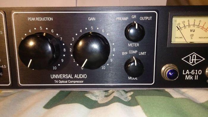 universal audio la 610 manual