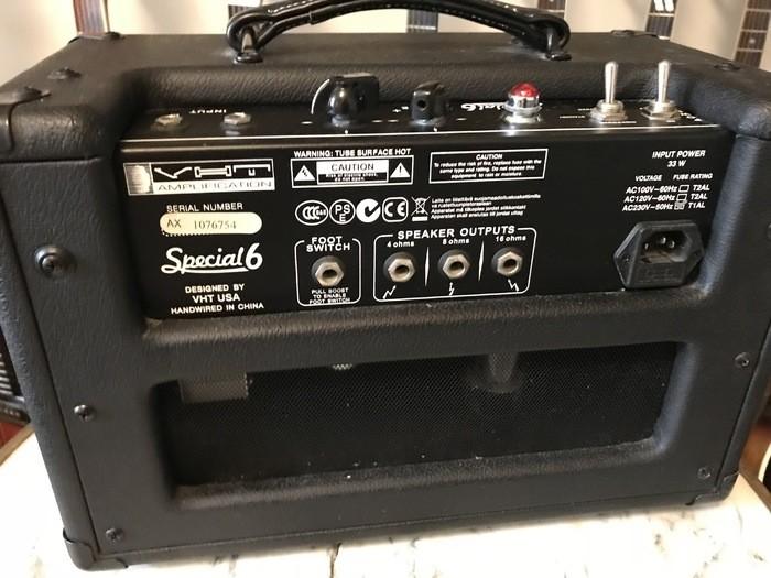 VHT Amplification (AXL) Special 6 Head AV-SP1-6H (65334)