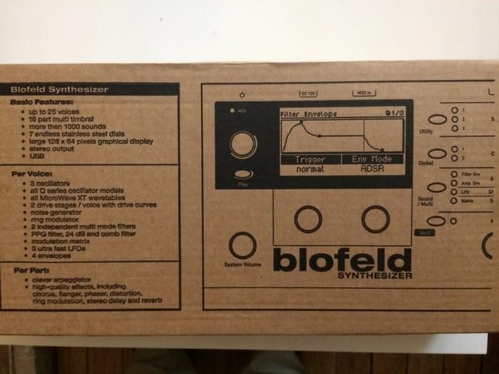 Waldorf Blofeld Black Edition (8934)