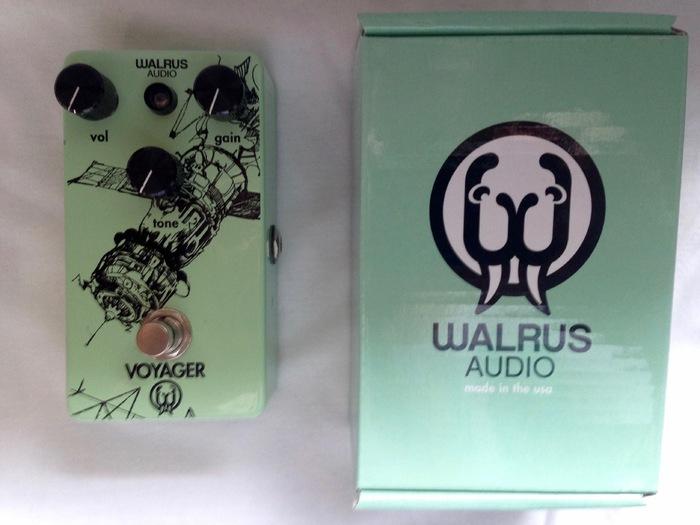 walrus audio voyager image 1481089 audiofanzine. Black Bedroom Furniture Sets. Home Design Ideas