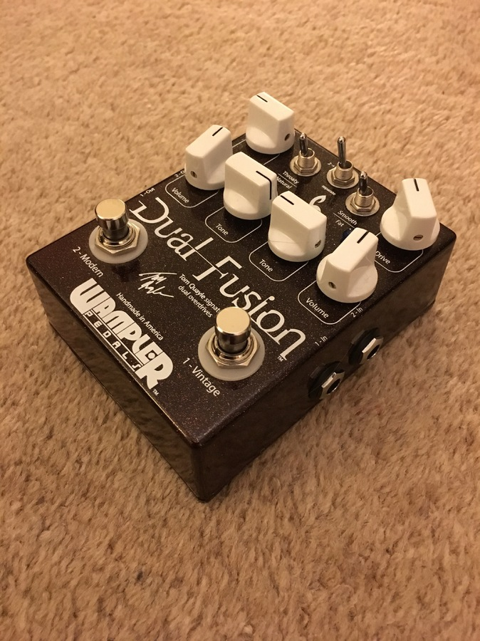 Wampler Pedals Dual Fusion airwin images