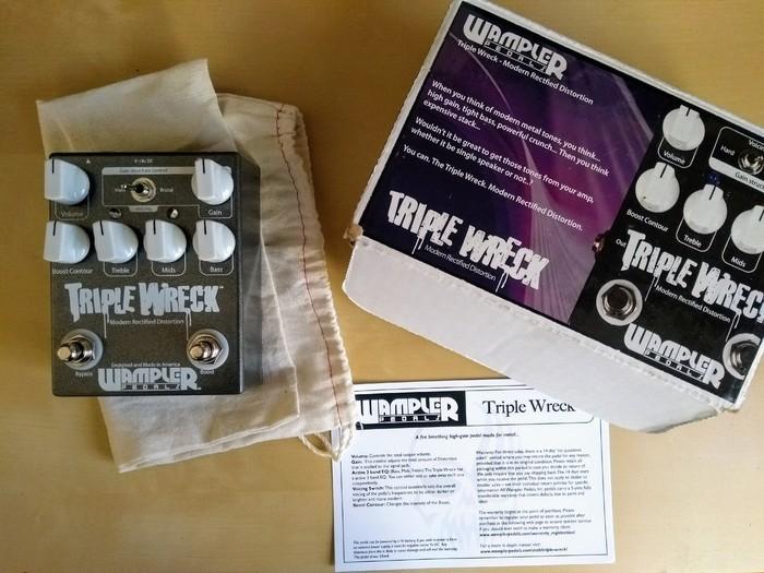 Wampler Pedals Triple Wreck Distortion (50774)