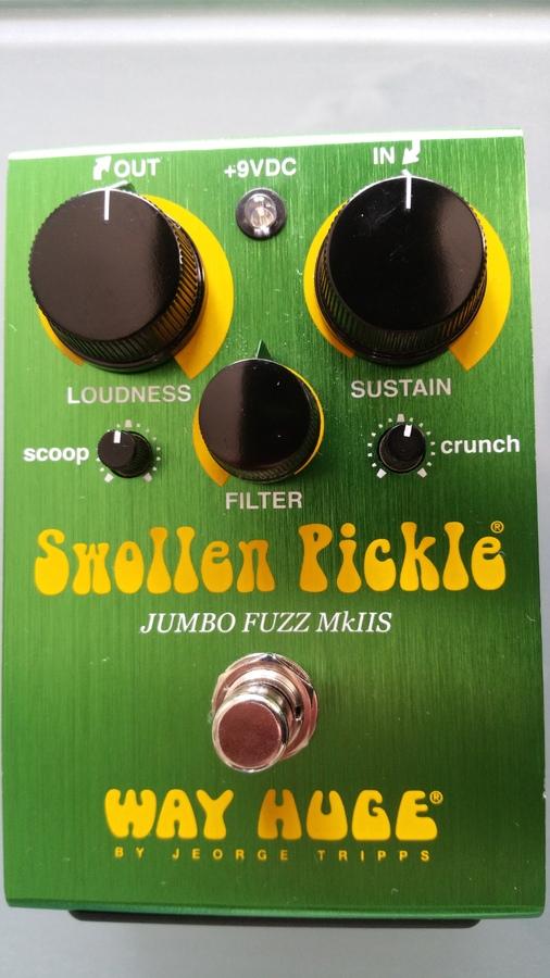 Way Huge Electronics WHE401S Swollen Pickle Jumbo Fuzz MKIIS seb sludge images