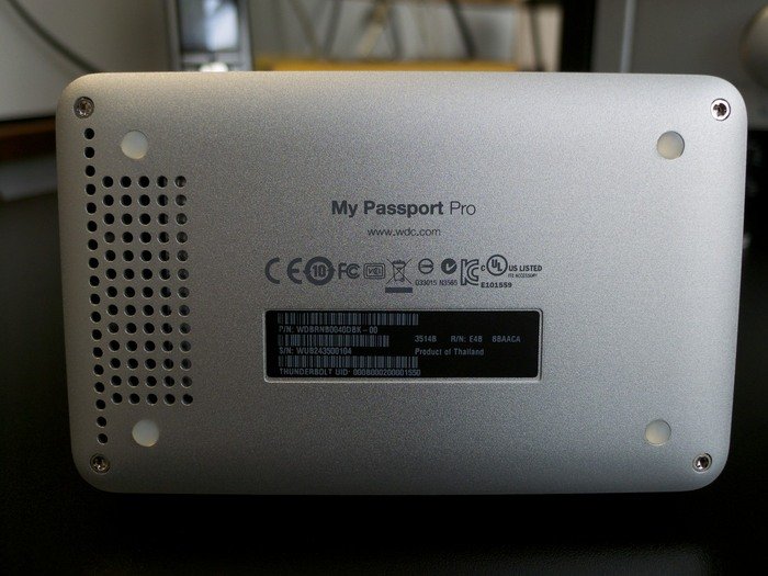 Western Digital My Passport Pro 4To