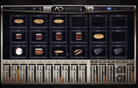 xln audio addictive drums 2 artist image 840564 audiofanzine. Black Bedroom Furniture Sets. Home Design Ideas