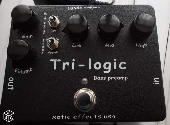 Xotic Effects Tri-logic bass Preamp (89024)