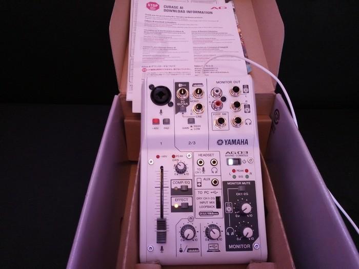 Yamaha AG03 (40310)
