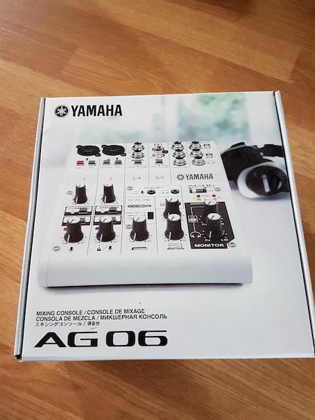 Yamaha AG06 bugbrothers images