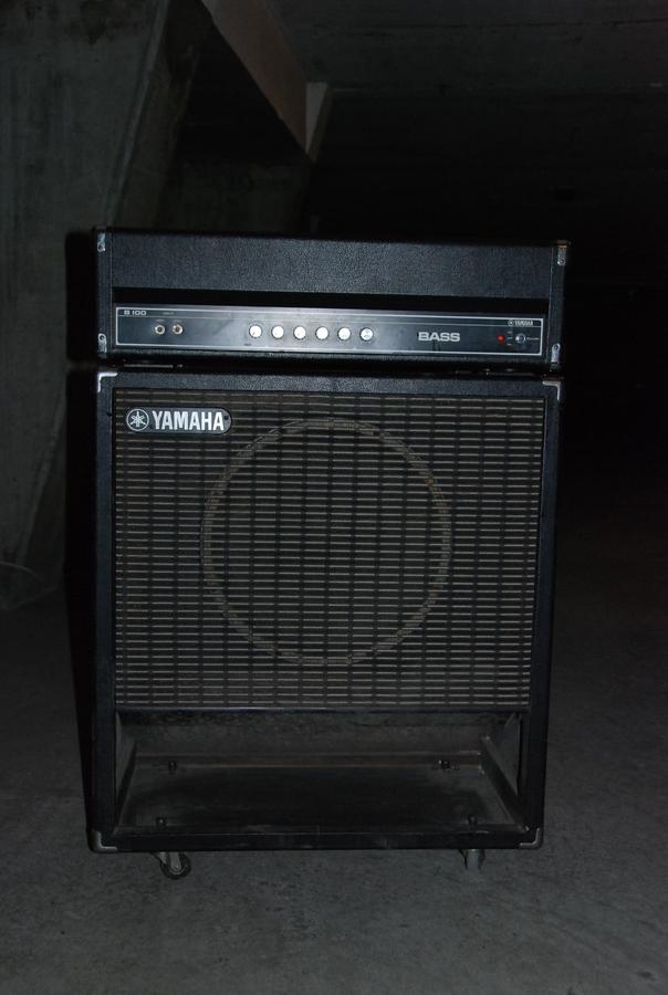 Yamaha b100 head image 979562 audiofanzine for Yamaha bass guitar amplifier