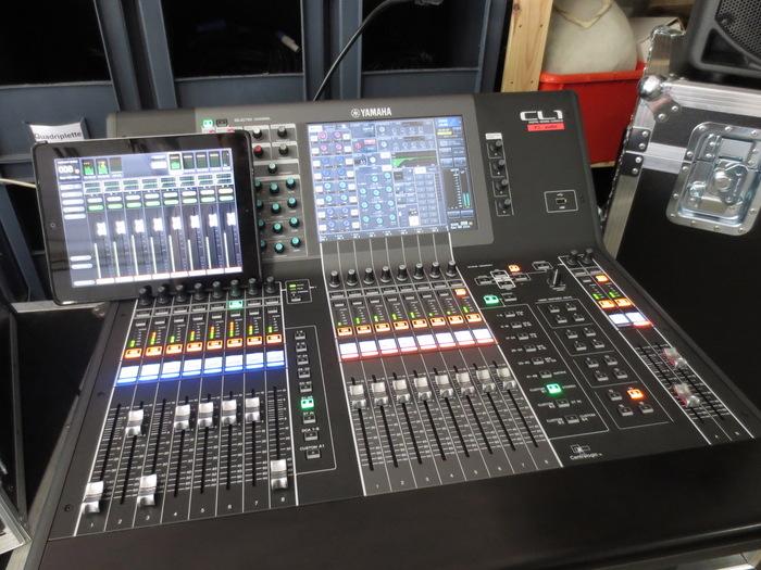 Table de mixage num rique yamaha cl1 r gion wallonne - Table de mixage numerique yamaha ...
