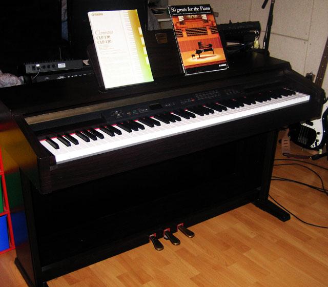 Photo yamaha clp 120 yamaha clavinova clp 120 250658 for Yamaha clavinova clp 350