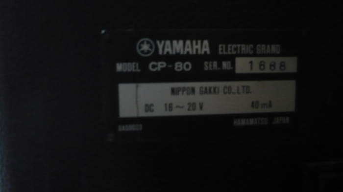 Yamaha Cp User Review