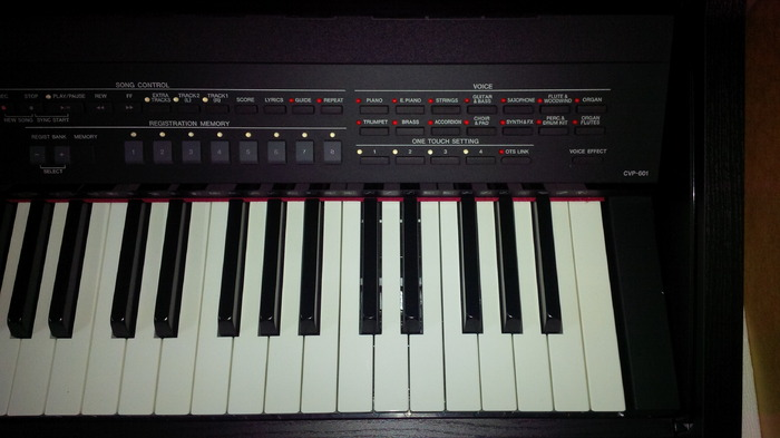 Yamaha cvp 601 image 1072962 audiofanzine for Yamaha clavinova cvp 601