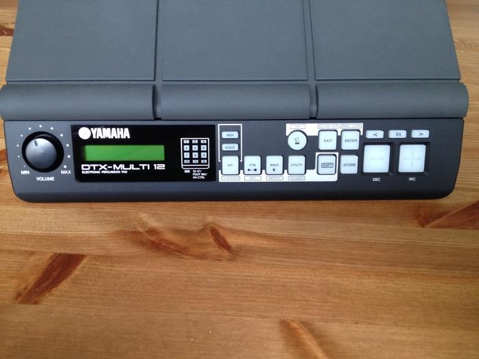 Yamaha dtx multi 12 image 684447 audiofanzine for Yamaha dtx multi pad