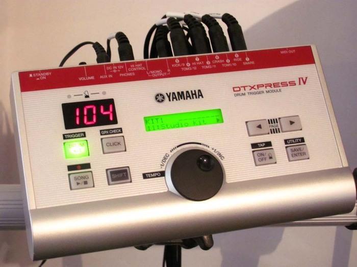 Yamaha dtxpress iv special image 82904 audiofanzine for Yamaha dtxpress review