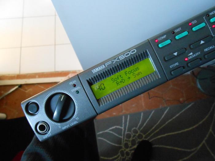 Yamaha FX500 dröne images