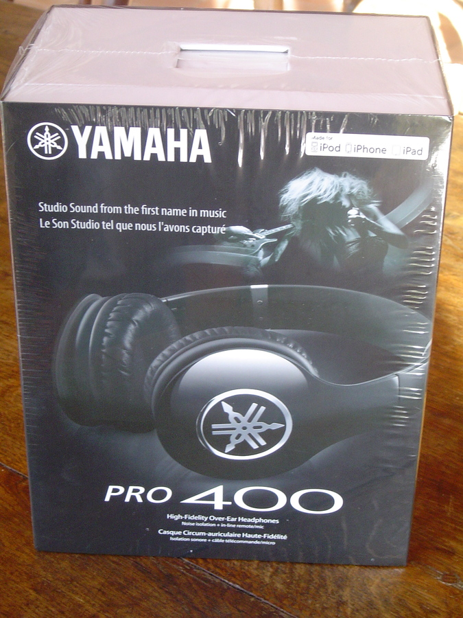 Photo yamaha hph pro 400 yamaha hph pro 400 black for Yamaha pro 400