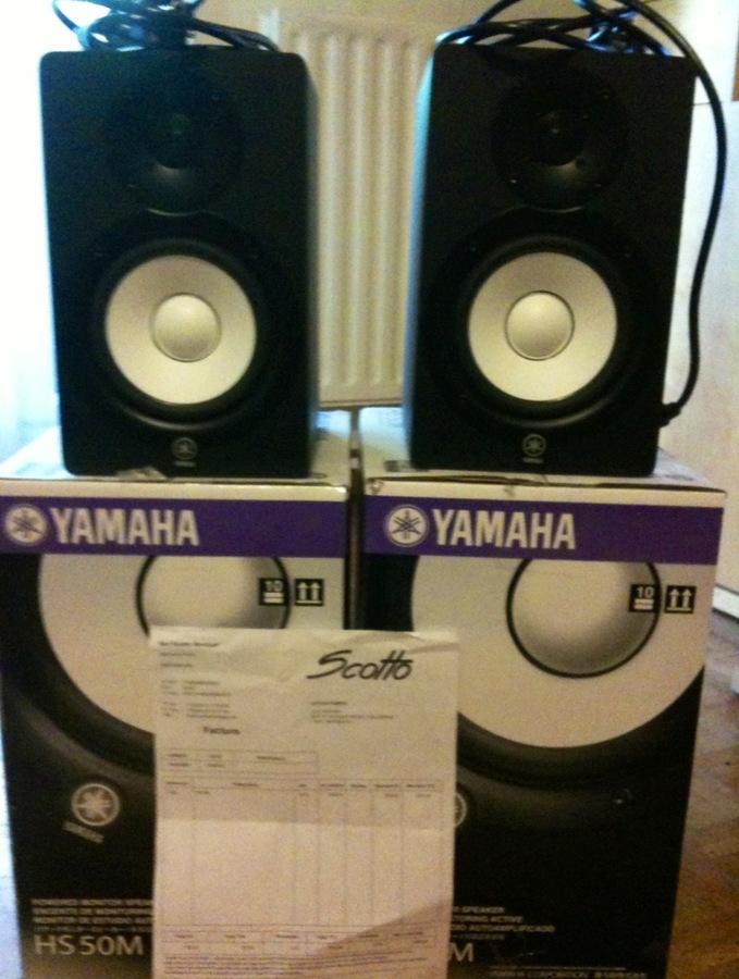 Yamaha hs50m image 419563 audiofanzine for Yamaha hs50m review