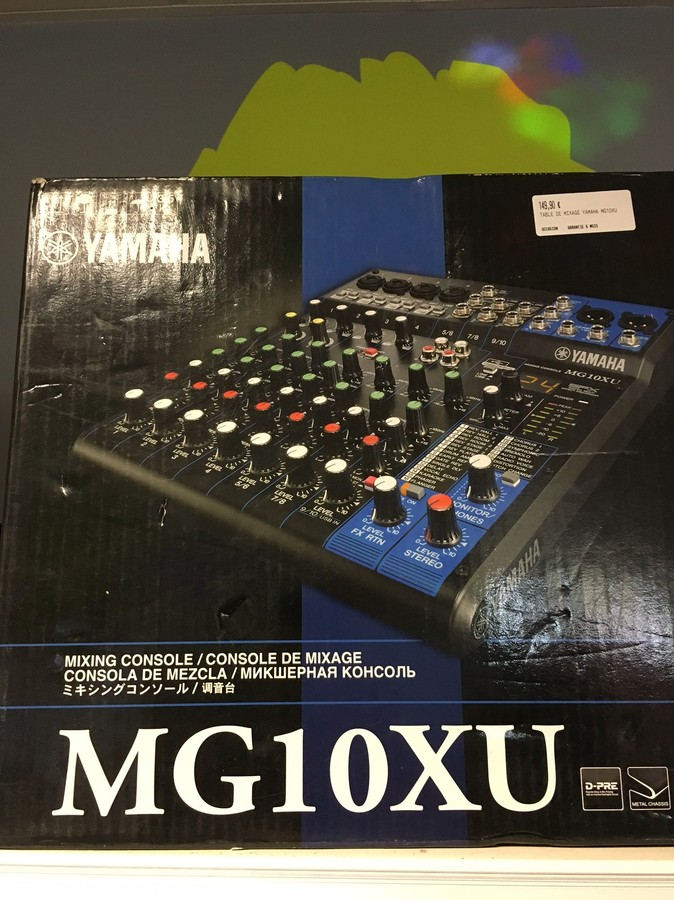 Yamaha mg10xu image 1724491 audiofanzine for Yamaha mg10xu review