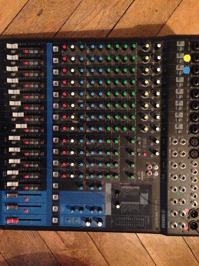 Vend table de mixage yamaha mg16 xu rh ne alpes audiofanzine - Table de mixage yamaha usb ...