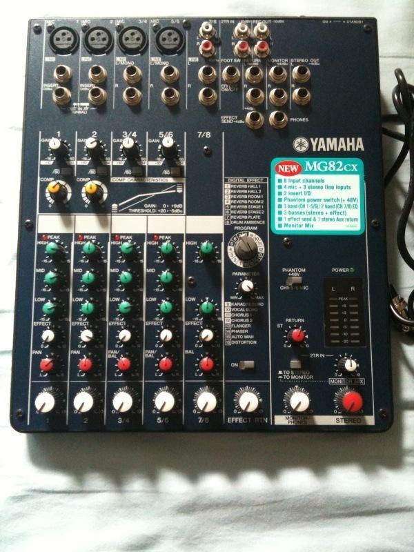 yamaha mg82cx image 107191 audiofanzine. Black Bedroom Furniture Sets. Home Design Ideas