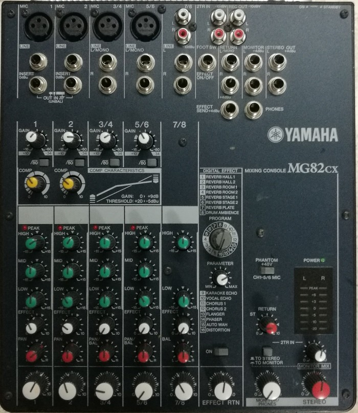 Yamaha MG82CX (70796)