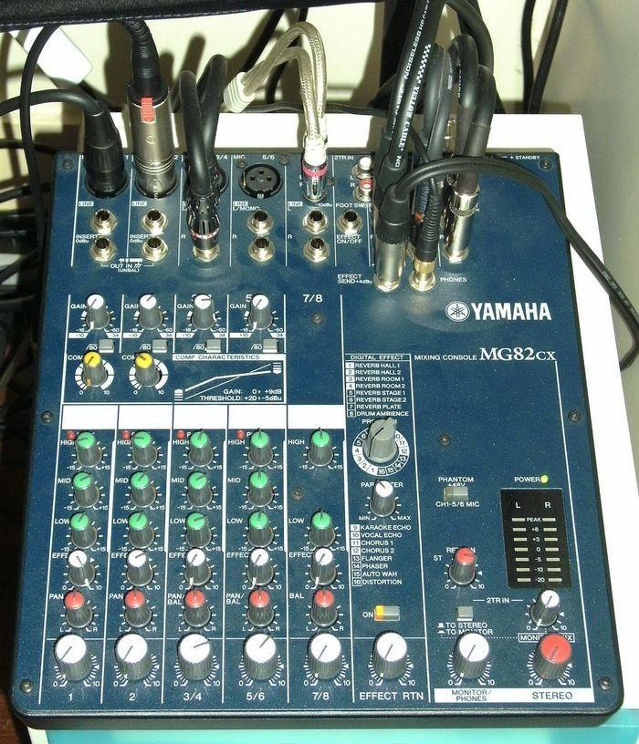 yamaha mg82cx image 219137 audiofanzine