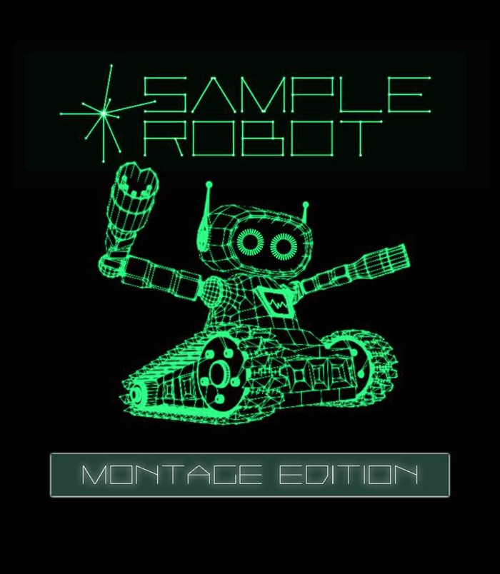 Sample robot Montage