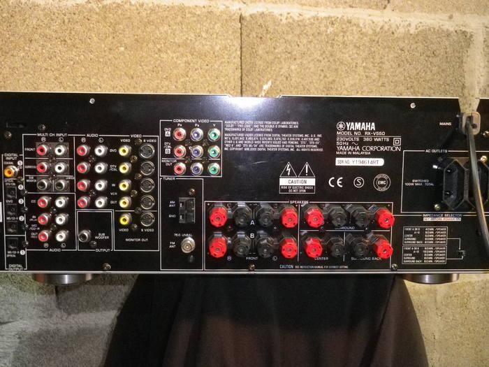 Yamaha rx v550 инструкция на русском