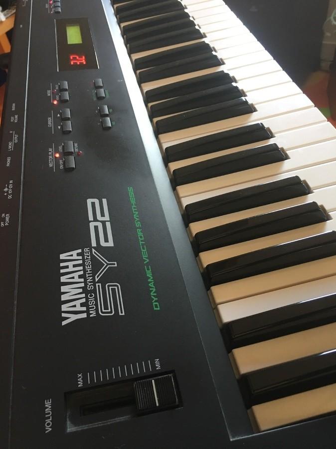 Yamaha SY22 kanarene images
