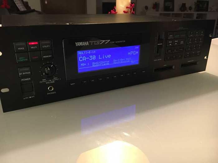Yamaha TG77 R0main images