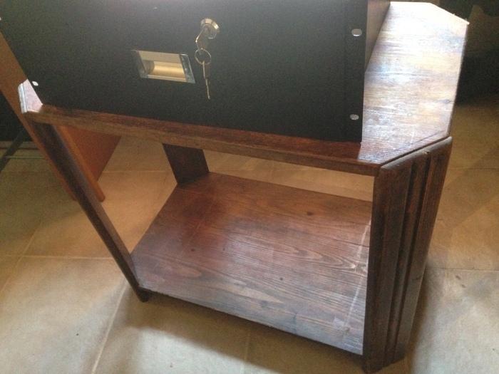 Petit meuble bois vintage pour rangement p rif 19 sans rack rh ne alpes audiofanzine for Petit meuble audio