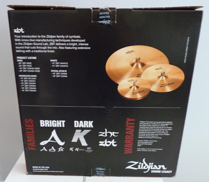 Zildjian 4 Matched Set Pack