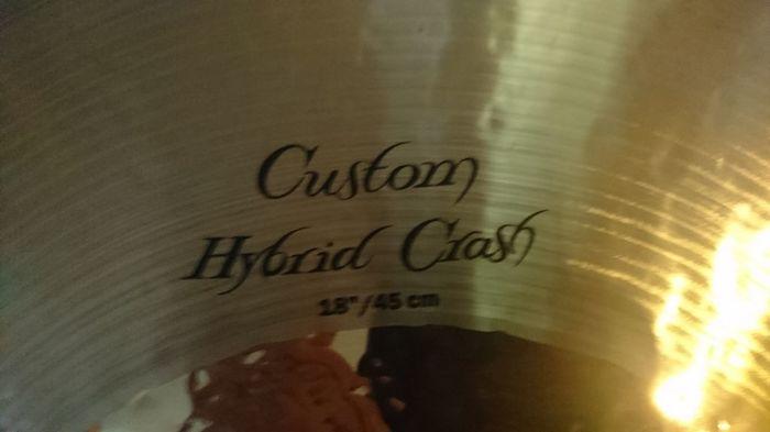 Zildjian K Custom Hybrid Crash 18