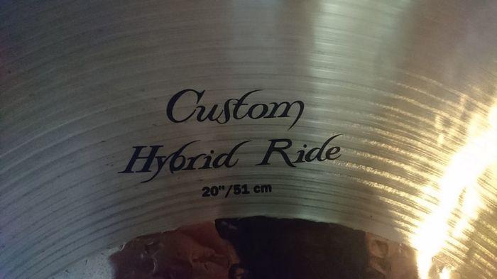 Zildjian K Custom Hybrid Crash 16