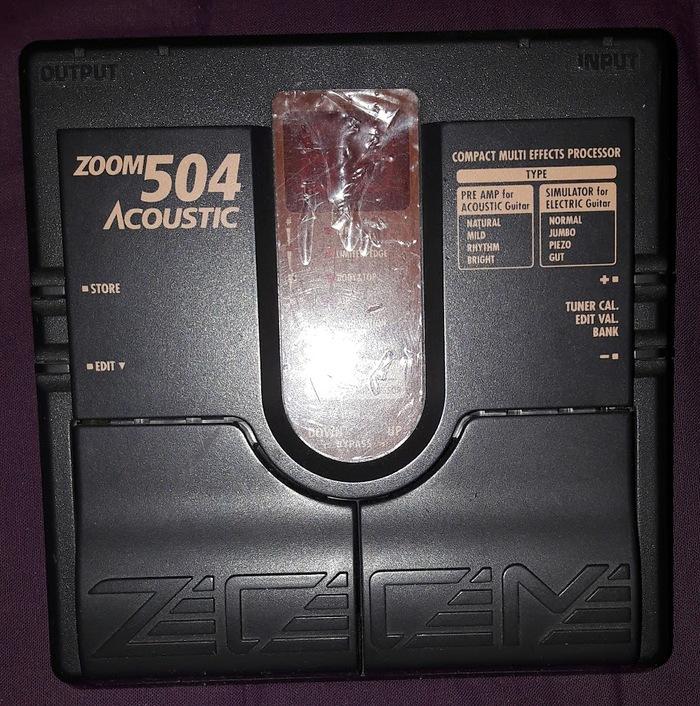 Zoom 504 Acoustic