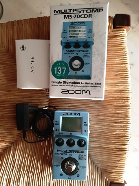 Zoom MultiStomp MS-70CDR