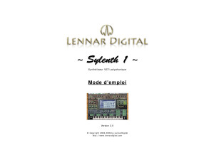 Sylenth1 Manual French