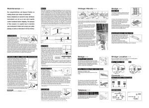 Ibanez Artcore Instruction Manual
