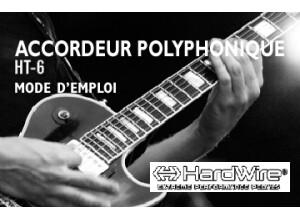 Hardwire HT 6 (mode d'emploi en français)