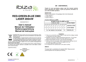 IBIZA 200 firebird RGB