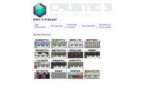 Caustic 3.1.0 manual