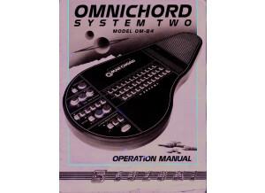 OM 84 manual