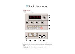 Shruthi  User manual   Mutable Instruments