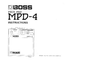 MPD-4 Manual