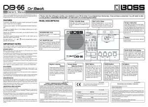DB-66 Manual
