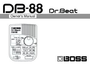 DB-88 Manual
