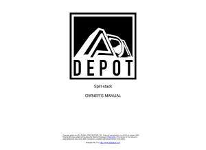 ADA splitstack manual