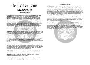 Knockout Manual