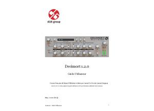 Decimort manual fr